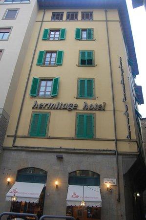 Hotel Hermitage : Front facade
