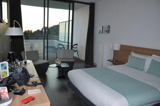 Hotel Les Terrasses du Bailli : Chambre