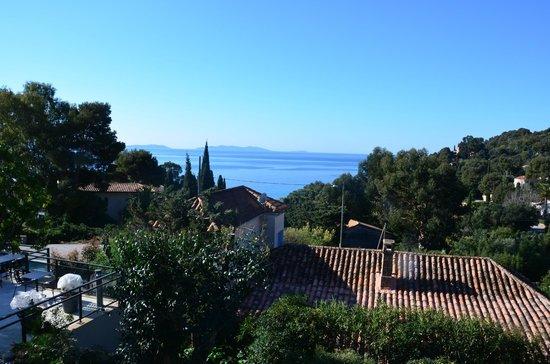 Hotel Les Terrasses du Bailli : Vue de la Terrasse