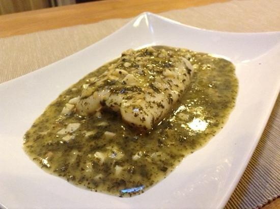 RIVERA: merluza en salsa