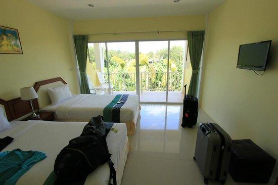 Naiyang Sonwa Resort : Twin Bed Room in der ersten Etage