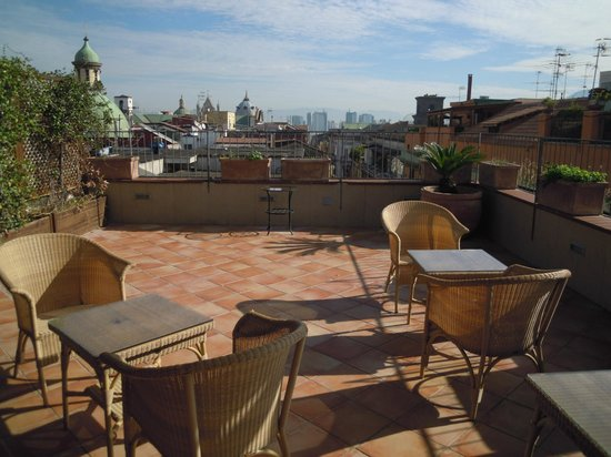 Bed and Breakfast Le Terrazze di Neapolis : la terrazza