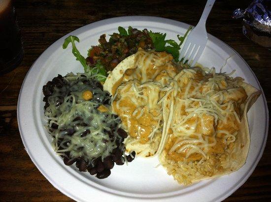 Mermaids Cafe : Tropical taco plate