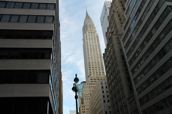 Chrysler Building : foto panoramica