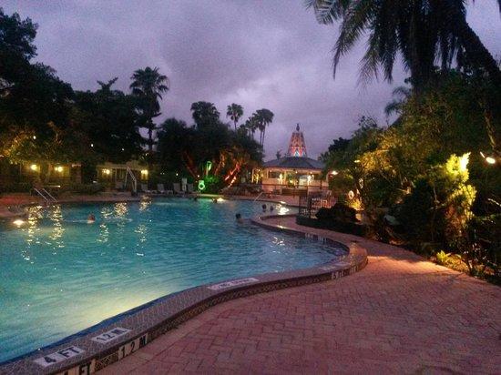Clarion Hotel & Conference Center: Excelente el ambiente de la pileta