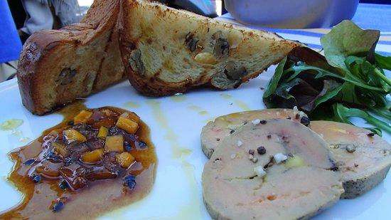 chez albert: Foir gras