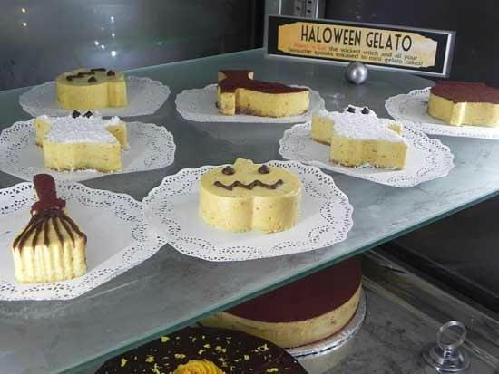 Il Gelato di Carlotta: Haloween pastries made with gelato