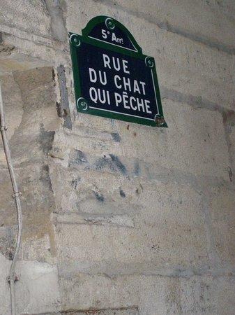Παρίσι, Γαλλία: Rue du Chat qui Pêche