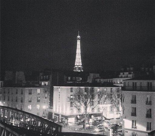 Art Hotel Eiffel: Vue de la chambre 501