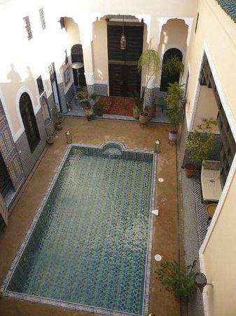 Riad Fes Baraka: vue depuis la terrasse