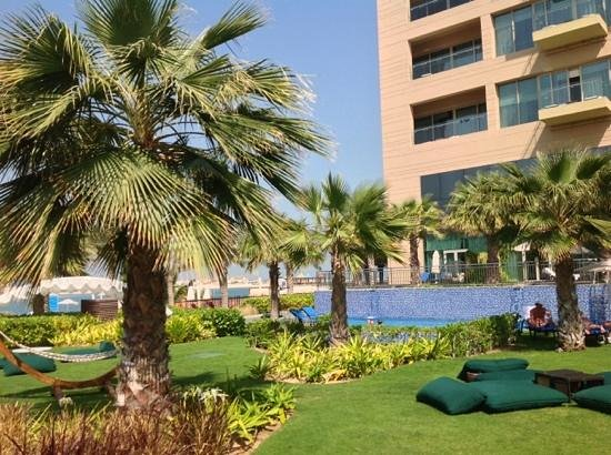 Rixos The Palm Dubai: the less crowded pool