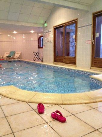 Hotel Le Gentiana : La piscine