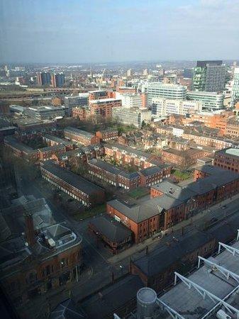 Hilton Manchester Deansgate: Aussicht