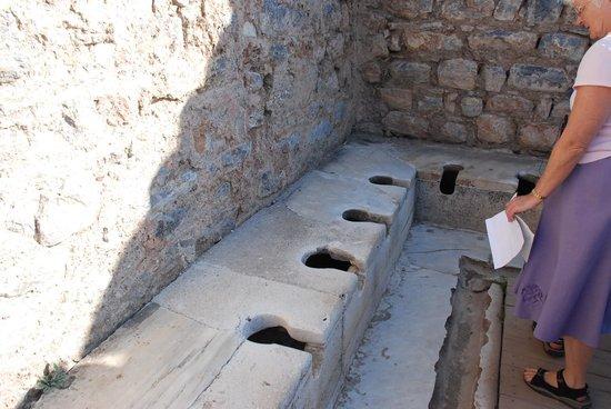 Public Latrine: Public Latrice at Ephesus