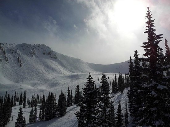 Kicking Horse Mountain Resort: Kicking Horse - Crystal Bowl