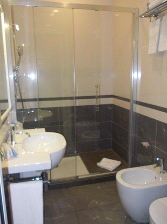 Hotel dei Borgia: salle de bain