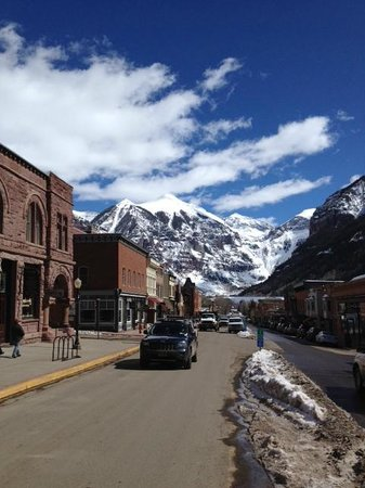 The Angler Inn: telluride is gorgeous!