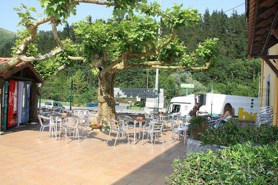 Hotel Rural Bereau - Terraza
