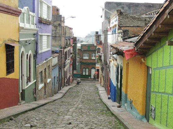 Barrio La Candelaria: Typical colourful streets of La Candelaria