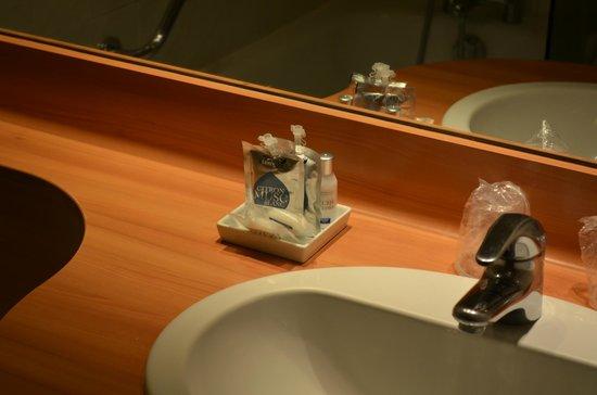 Hotel Mercure Trouville Sur Mer : принадлежности туалетные