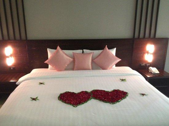 Sand Sea Resort: Bed