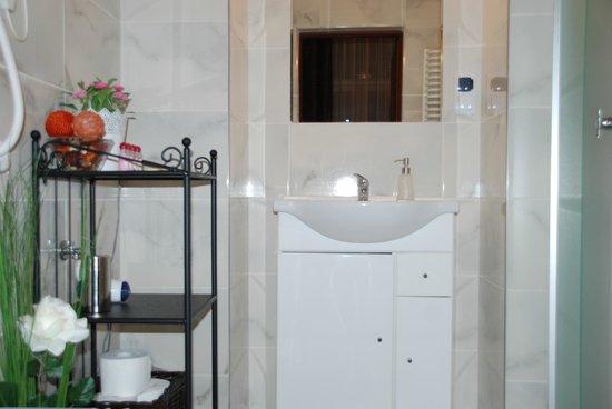 K22 Aparthotel : Bathroom with toiletries