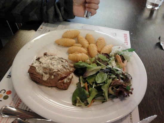 Restaurants Colmar: Filet pur (un peu petit...)