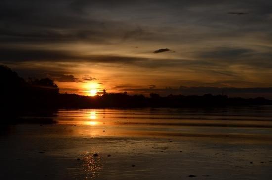Tongabezi: Sunset tour im januar 2014