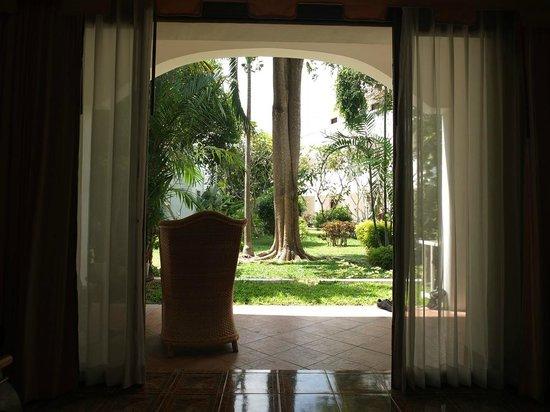 Samui Palm Beach Resort & Hotel: Blick aus dem Zimmer