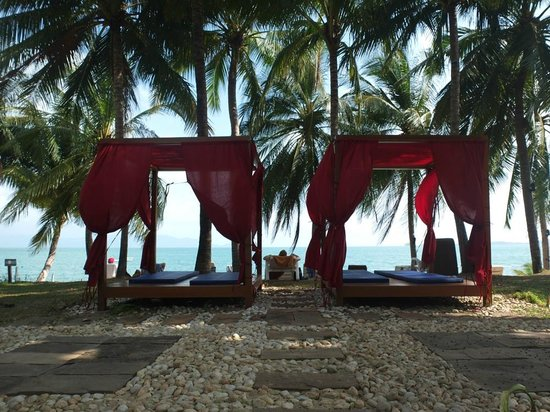 Samui Palm Beach Resort & Hotel : Strand