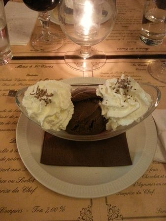 Le Chat Gourmand: My dessert