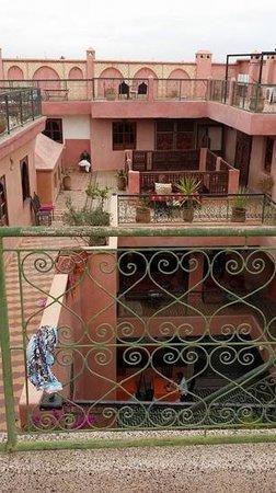 Riad Amssaffah: terrace