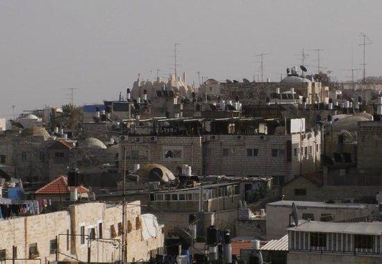 Hashimi Hotel: roof terrace