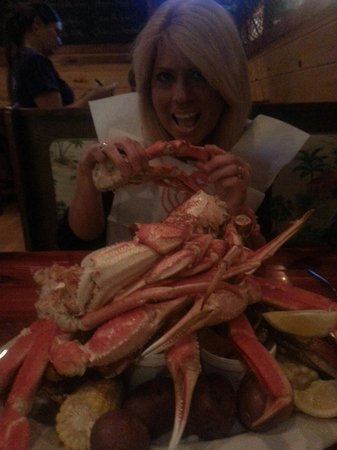 Bayou Bill's Crab House: The crab feast!  Awesome!