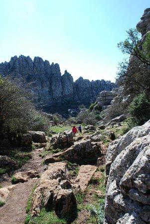 "Paraje Natural Torcal de Antequera: hiking trail ""Ruta Verde"""
