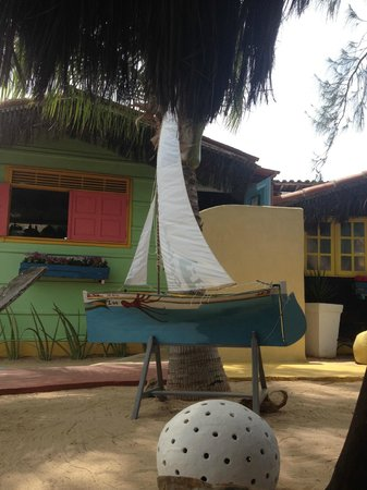 Chale Oasis: Lovely decorations and colors