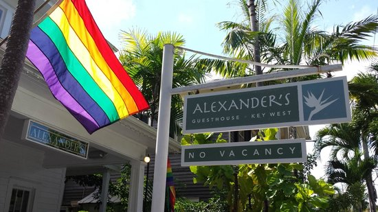 Alexander's Gay and Lesbian Guesthouse : Front of Alexander's