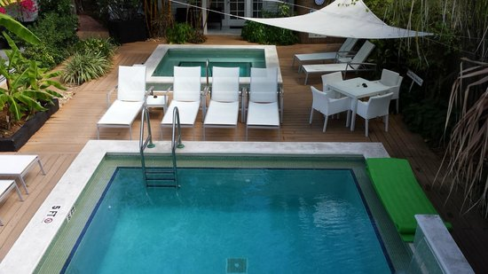 Alexander's Guesthouse: Pool Deck and Patio