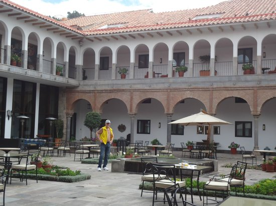 JW Marriott El Convento Cusco: Patio