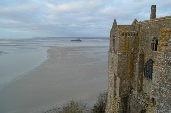 Abbaye du Mont-Saint-Michel : красивый вид