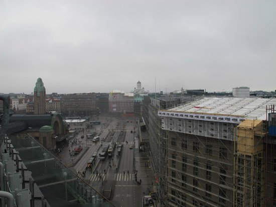 Original Sokos Hotel Vaakuna: View from 10th floor