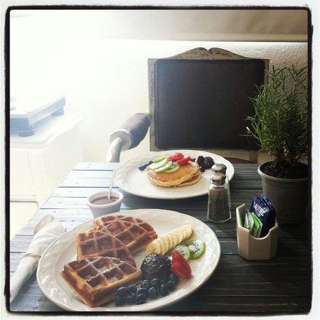 Blueberry Cafe: Desayunos..