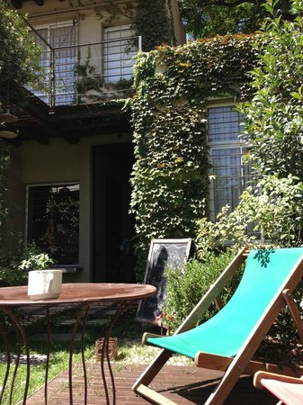 Casa Lila : Courtyard garden - great place to chill!