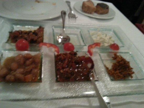 Pasazade Restaurant Ottoman Cuisine : meze was nice