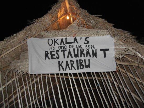 Okala's Restaurant: Retenez bien ce nom !
