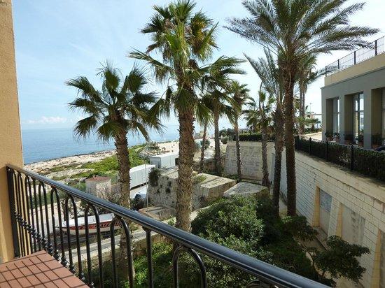 Hilton Malta: Sea View Executive Room- View from balcony