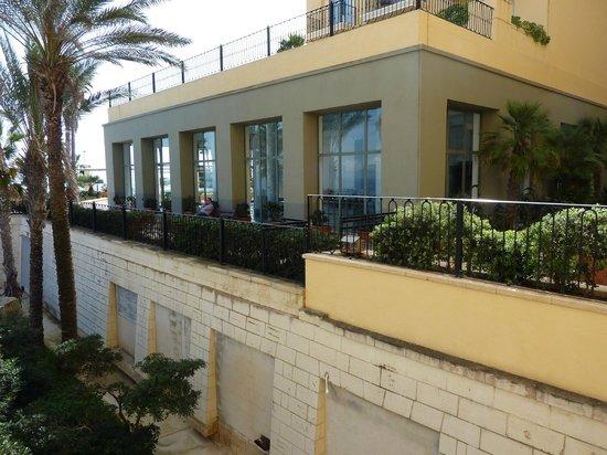 Hilton Malta : Sea View Executive Room View from balcony