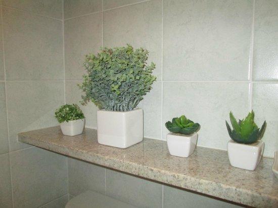 decorazioni bagno - Foto di Orchidea, Carru - TripAdvisor