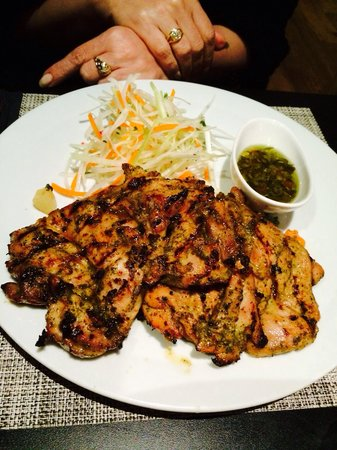 Pago Pago : Young chicken with amazing sauce