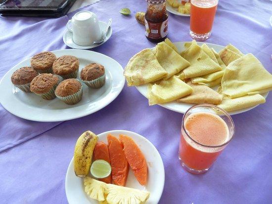 Hotel Ganga Addara: ontbijt
